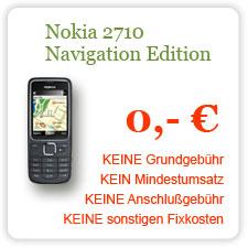 Nokia 2710 Navigation Edition - komplett kostenlos