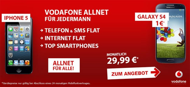 Voadafone-Allnet-Preisboerse24