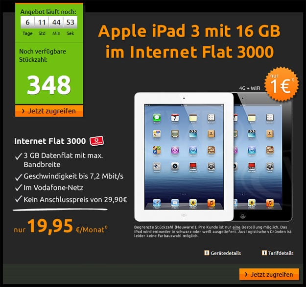 iPad-3-Datenflat-Vodafone
