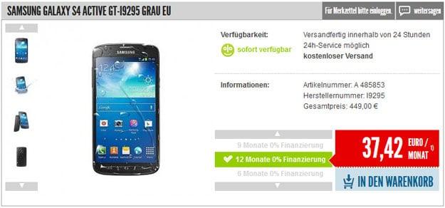 Samsung-Galaxy-S4-Active-auf-Raten