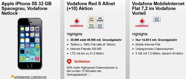 Vodafone-Red-S-Datentarif