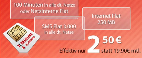 Vodafone Talk Easy 100