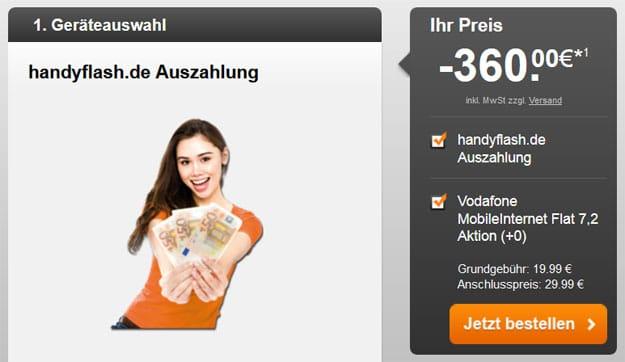Vodafone-Datenflat-Handyfla