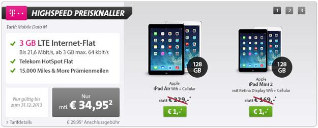 iPad Air 128GB Telekom Datenflat