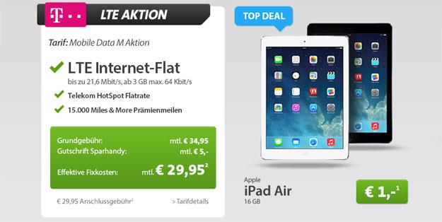 iPad Air mit Telekom LTE-Flat