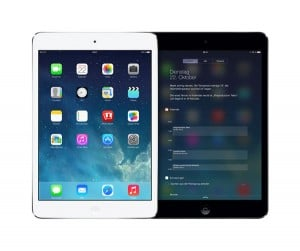 iPad Mini mit Retina Display vorne