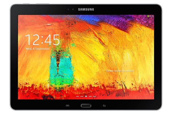 Samsung Galaxy Note 10.1 vorne