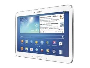 Samsung Galaxy Tab 3 (10.1) vorne