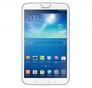 Samsung Galaxy Tab 3 8.0 vorne