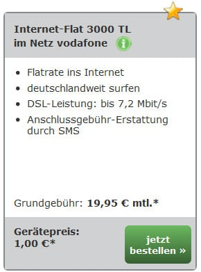 Internet-Flat 3000