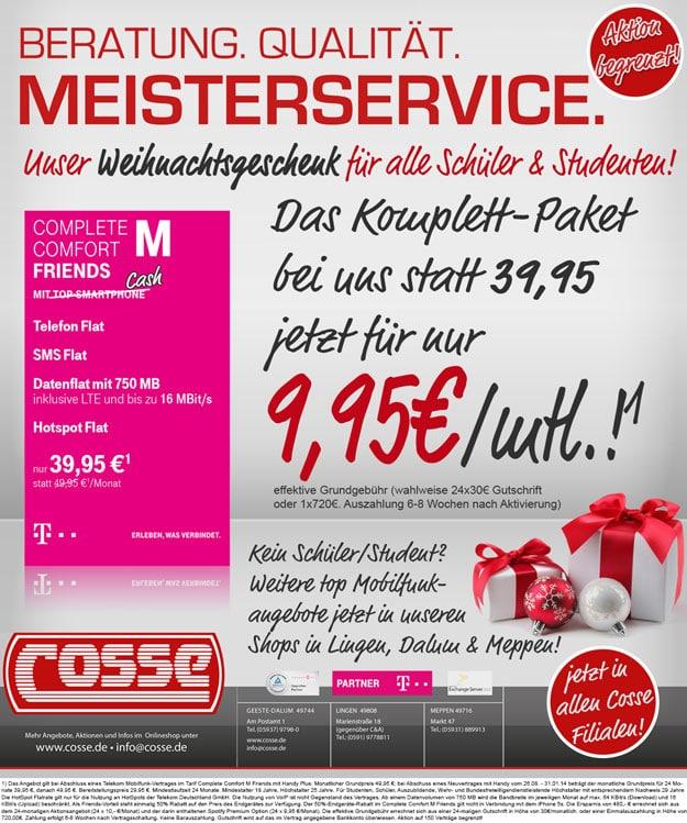 Telekom Complete Comfort M Friends Cosse