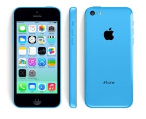 Apple iPhone 5c blau