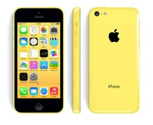 Apple iPhone 5c gelb