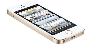 Apple iPhone 5s vorne