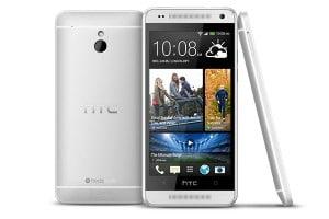 HTC One Mini silber