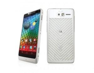 Motorola RAZR i weiß