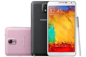 Samsung Galaxy Note 3 alle Farben
