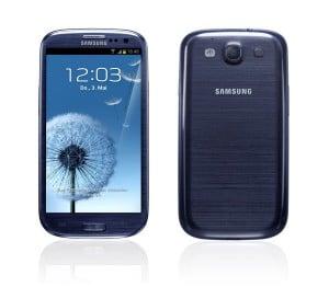 Samsung Galaxy S3 blau