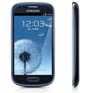 Samsung Galaxy S3 Mini blau
