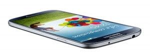 Samsung Galaxy S4 flach