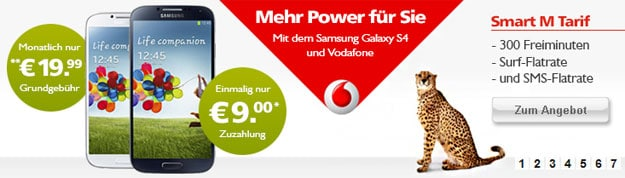 Vodafone Smart M - Samsung Galaxy S4 - LogiTel