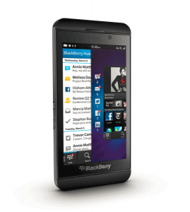 Blackberry Z10 vorne