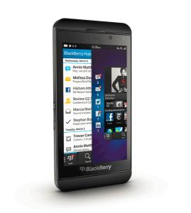 Blackberry Z10 vorne