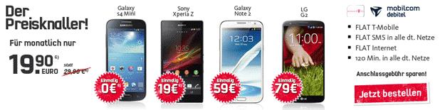 Flat Smart Telekom (mobilcom-debitel) bei Handytick