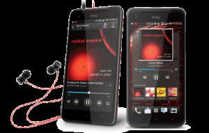 HTC Butterfly mit Musik