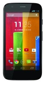 Motorola Moto G front
