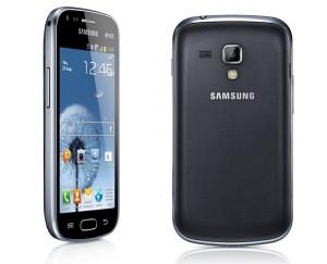 Samsung Galaxy S DuoS hinten