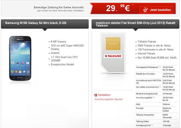 Talkline Telekom Flat Smart