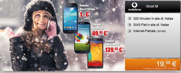 Vodafone Smart M mit Smartphones