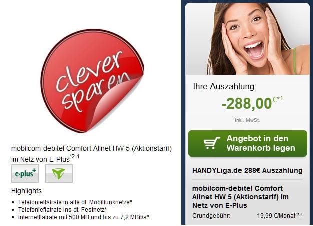 Comfort Allnet - 7,99 EUR