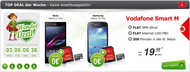 Vodafone Smart M - Wonder Deal