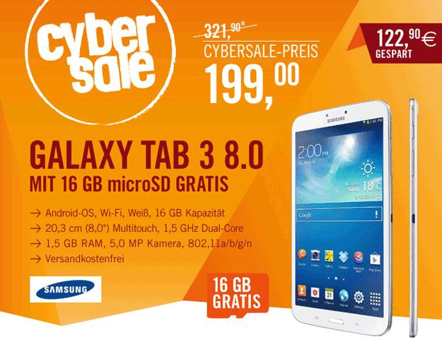 Cyberport Samsung Galaxy Tab 3 (8.0)