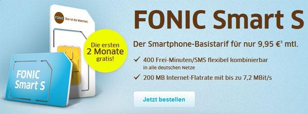 Fonic Smart S für 2 Monate gratis