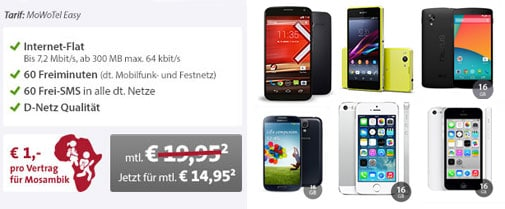 Top-Deals mit dem MoWoTel Easy