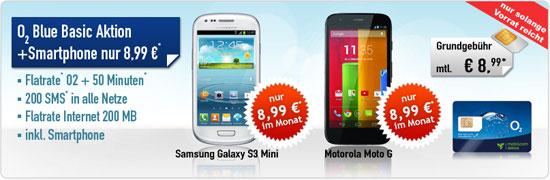 o2 Blue Basic von mobilcom-debitel mit Gewinn