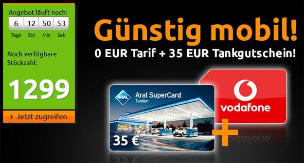 Crash-Aktion 35 EUR Tankgutschein