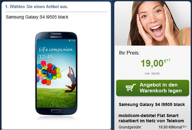 Telekom Flat Smart mit Samsung Galaxy S4 und Samsung Galaxy Note 3