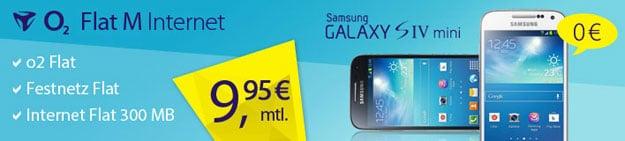 o2 Flat M Internet - Galaxy S4 Mini