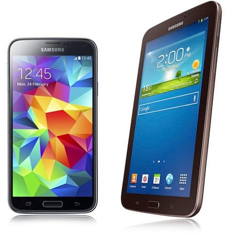 Samsung Galaxy S5 + Galaxy Tab 3