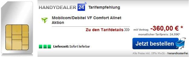 Vodafone Comfort Allnet - SIM only
