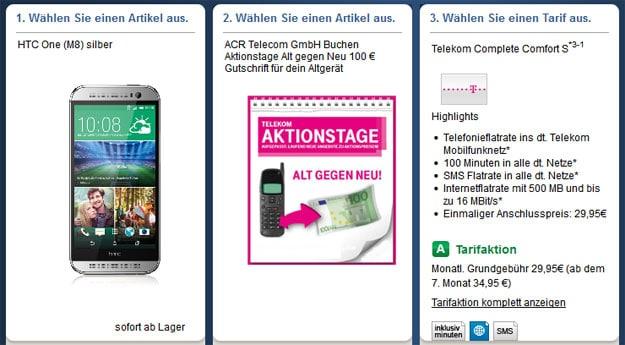 Telekom Complete Comfort S mit 100 € Alt gegen Neu Bonus