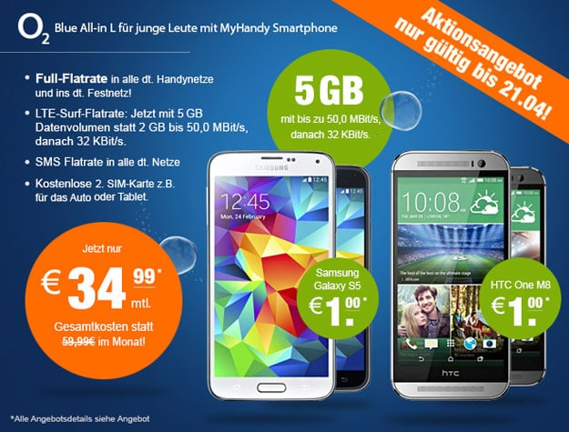 o2 Blue All in L mit 5 GB