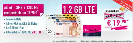 Telekom Special Allnet mit Promotionsrabatt