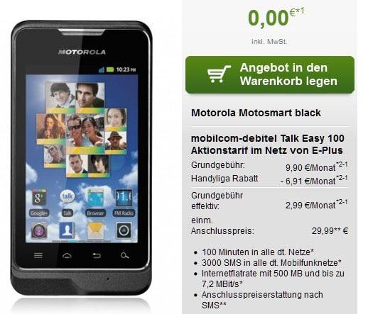 Talk Easy - Motorola Motosmart