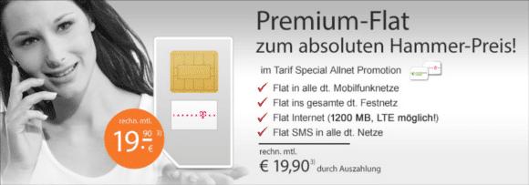 Talkline Telekom Allnet-Flat 1,2 GB