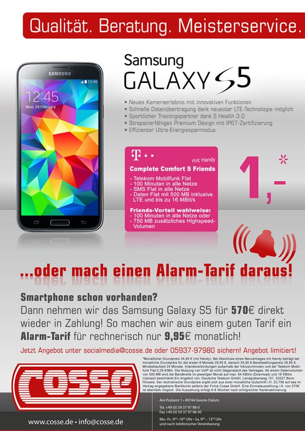 Telekom Complete Comfort S mit Auszahlung
